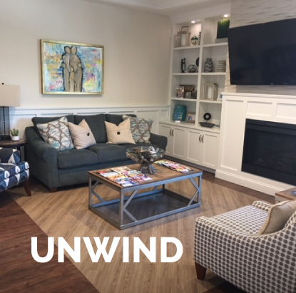 Unwind at Ronald McDonald House Charity